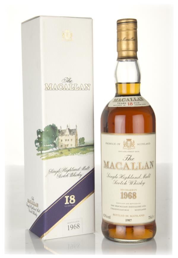 The Macallan 18 Year Old 1968 Single Malt Whisky