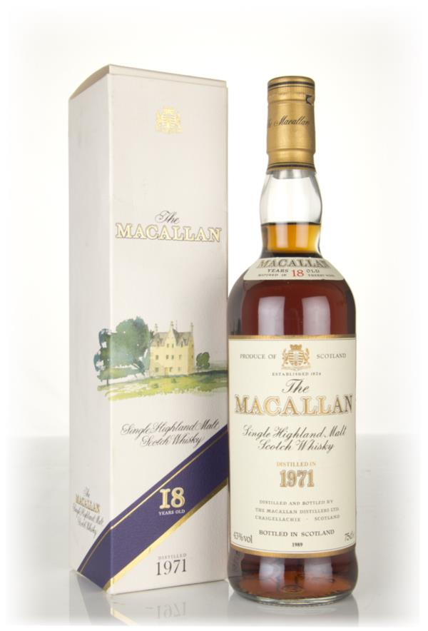 The Macallan 18 Year Old 1971 Single Malt Whisky