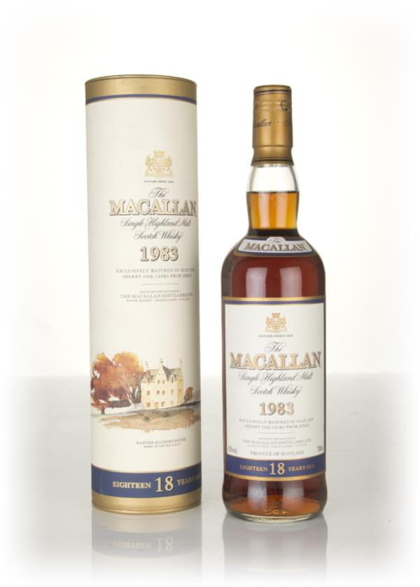 The Macallan 18 Year Old 1983 Single Malt Whisky