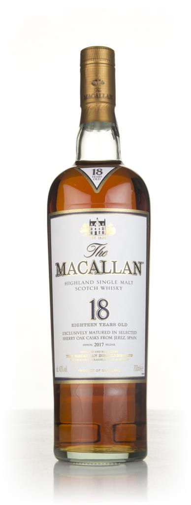 The Macallan 18 Year Old 2017 Release 3cl Sample Single Malt Whisky