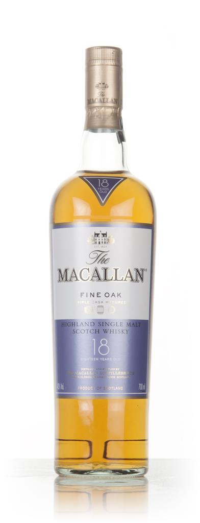 The Macallan 18 Year Old Fine Oak 3cl Sample Single Malt Whisky