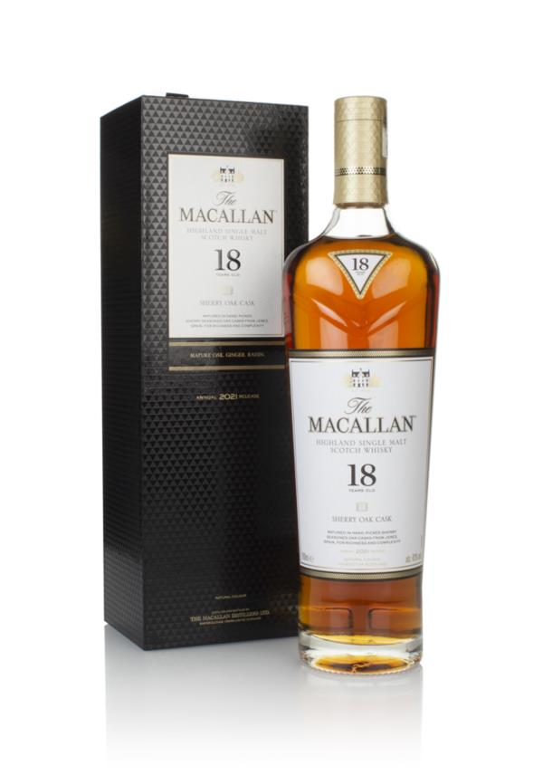 The Macallan 18 Year Old Sherry Oak (2020 Release) 3cl Sample Single Malt Whisky
