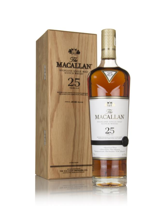The Macallan 25 Year Old Sherry Oak - 2018 Release Single Malt Whisky