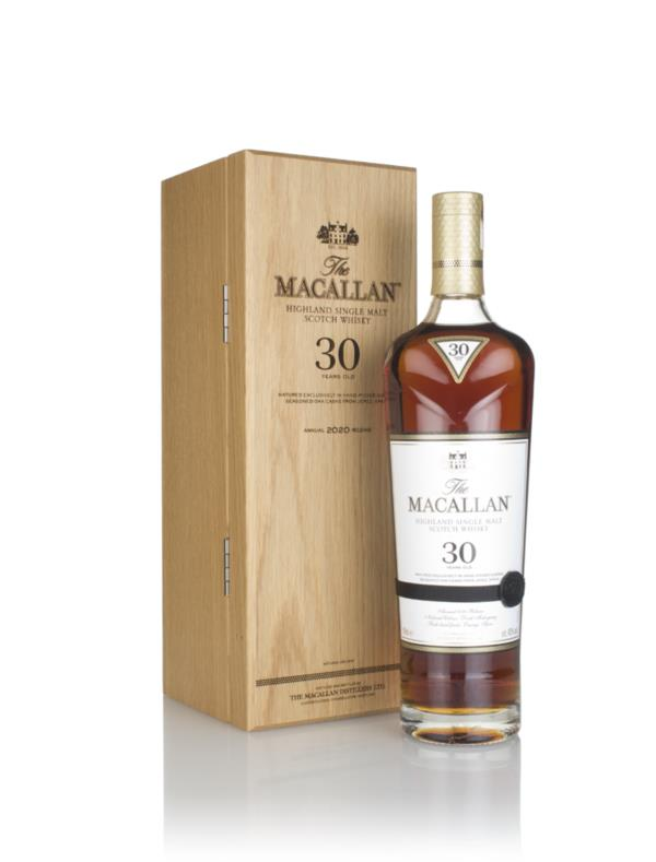 The Macallan 30 Year Old Sherry Oak (2020 Release) 3cl Sample Single Malt Whisky