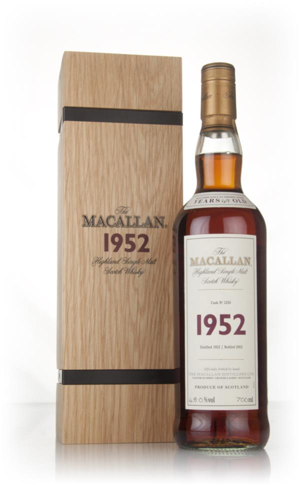 The Macallan 49 Year Old 1952 (cask 1250) - Fine & Rare Single Malt Whisky