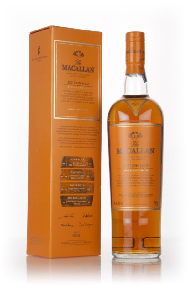 The Macallan Edition No.2 3cl Sample Single Malt Whisky