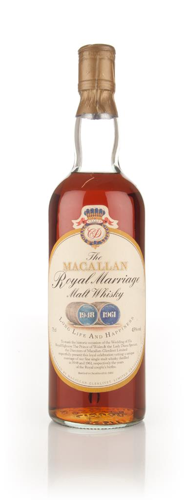 The Macallan Royal Marriage - 1981 Single Malt Whisky