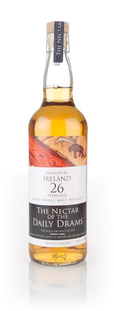 Irish Single Malt 26 Year Old 1989 - The Nectar of the Daily Drams 3cl Single Malt Whisky 3cl Sample