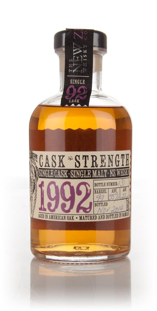 New Zealand 22 Year Old 1992 Cask Strength Single Malt Whisky
