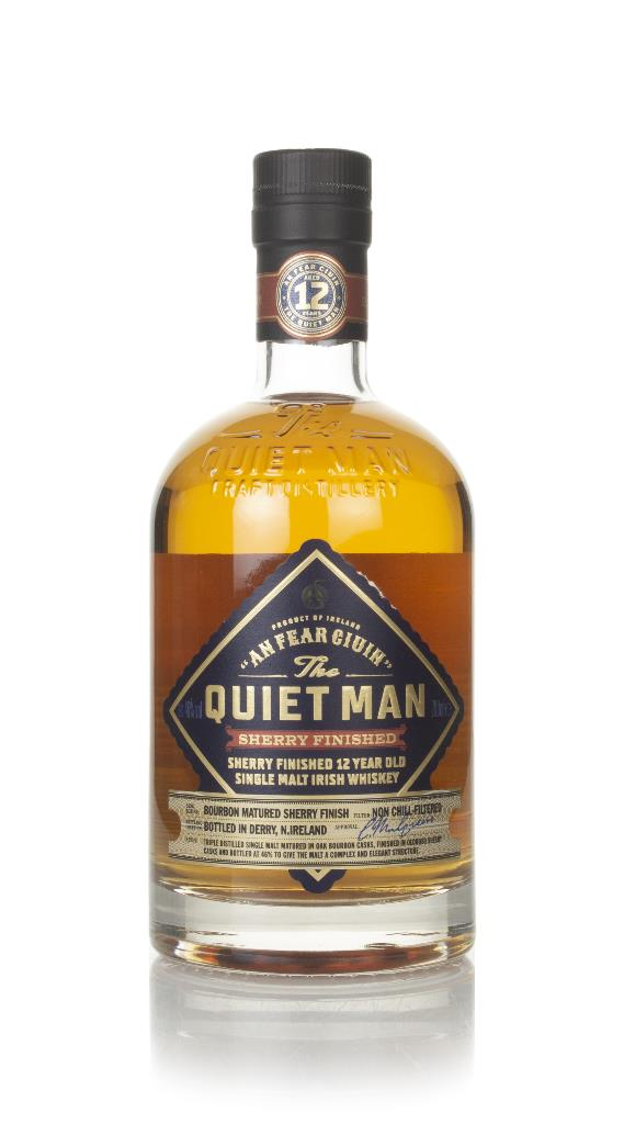 The Quiet Man 12 Year Old Oloroso Sherry Cask Finish Single Malt Whiskey