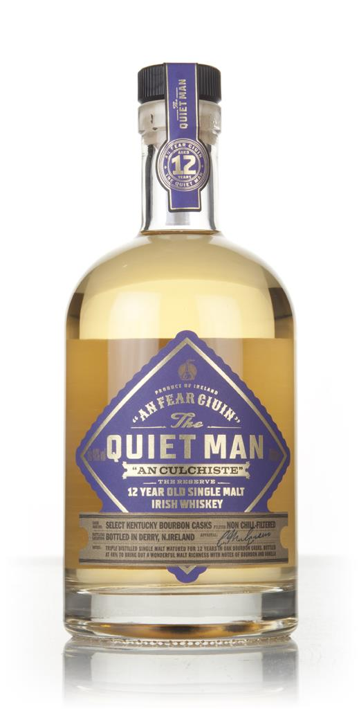 The Quiet Man 12 Year Old Single Malt Whiskey