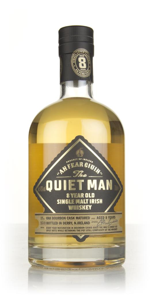 The Quiet Man 8 Year Old Single Malt Whiskey