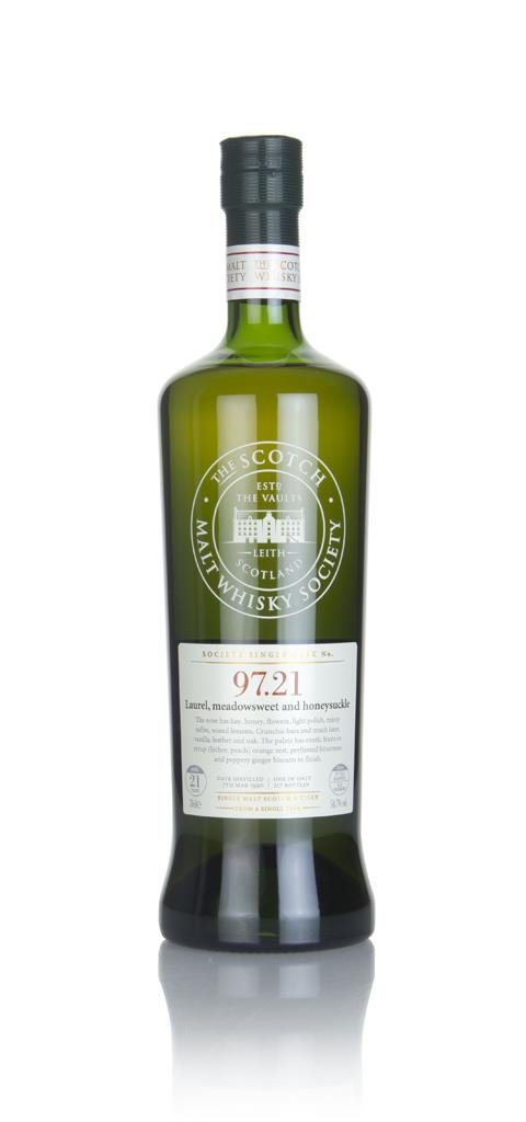 SMWS 97.21 21 Year Old 1990 Single Malt Whisky