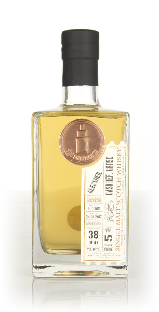 Glensheil 5 Year Old 2011 (cask GR115C) - The Single Cask Single Malt Whisky