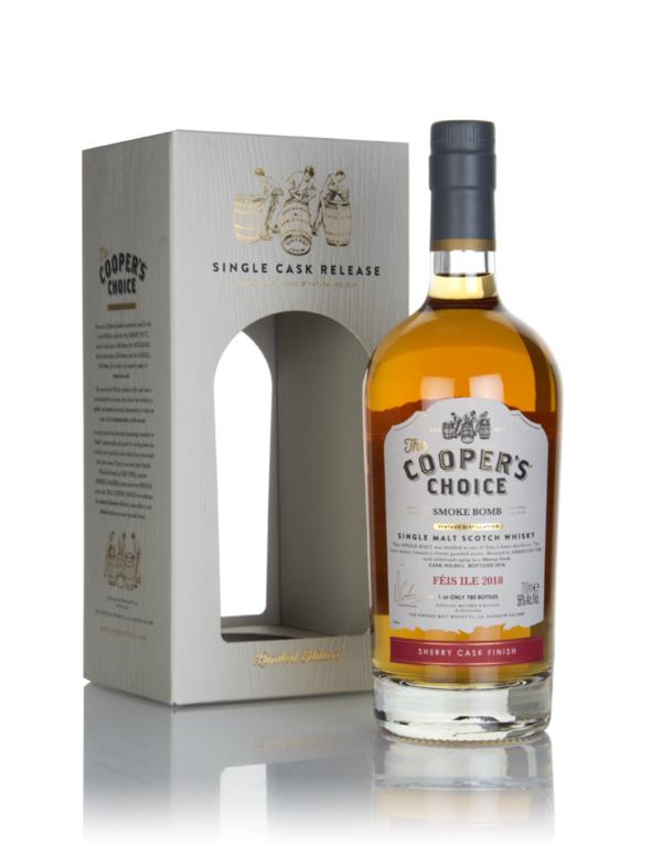 Smoke Bomb 2018 (cask 9011) - The Cooper's Choice (The Vintage Malt Wh Single Malt Whisky