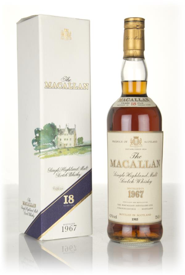 The Macallan 18 Year Old 1967 Single Malt Whisky