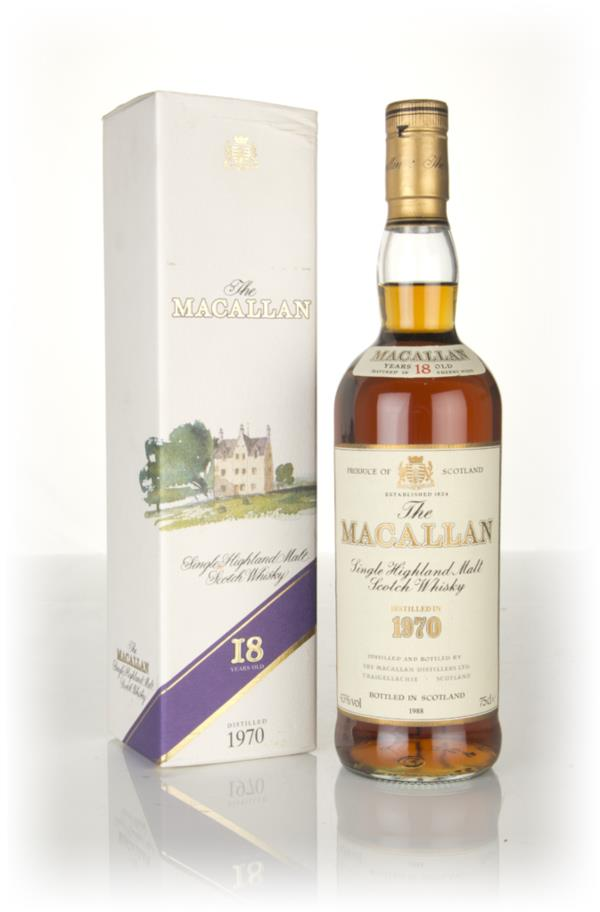 The Macallan 18 Year Old 1970 Single Malt Whisky