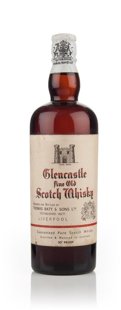Glencastle Fine Old Scotch Whisky - 1950s Blended Whisky