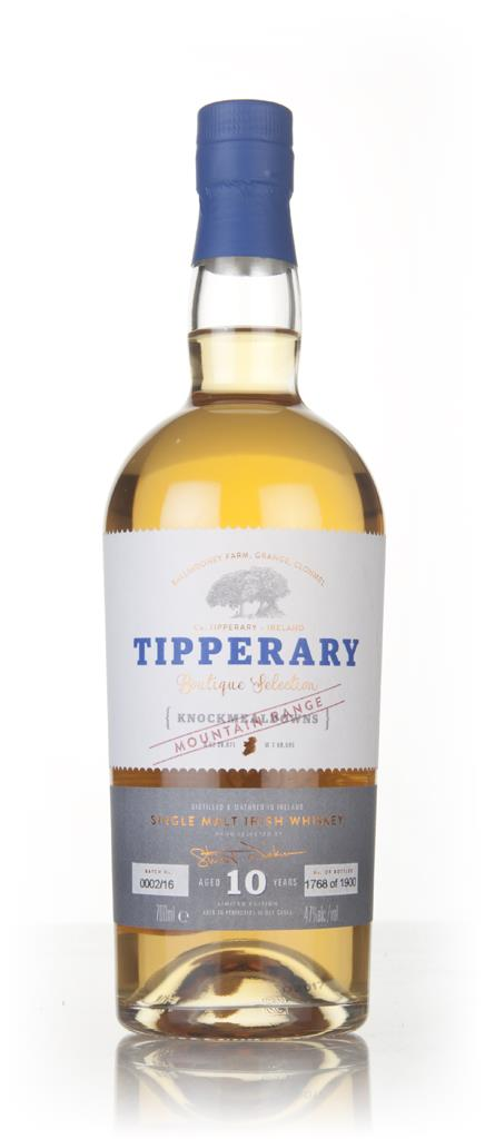 Tipperary 10 Year Old Knockmealdowns Single Malt Whiskey
