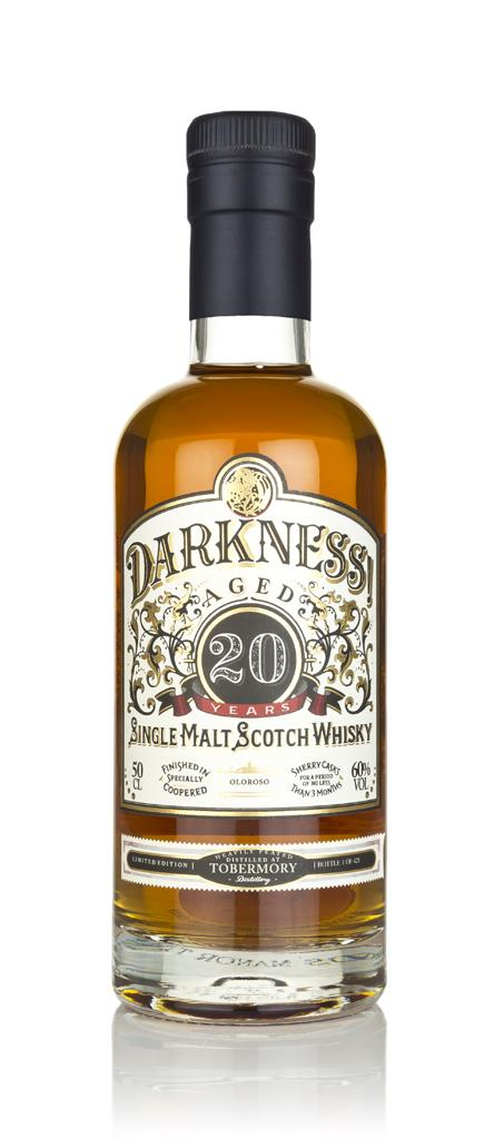 Darkness! Tobermory Heavily Peated 20 Year Old Oloroso Cask Finish 3cl Single Malt Whisky 3cl Sample
