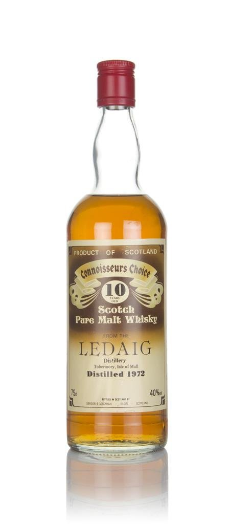 Ledaig 10 Year Old 1972 - Connoisseurs Choice (Gordon & MacPhail) Single Malt Whisky