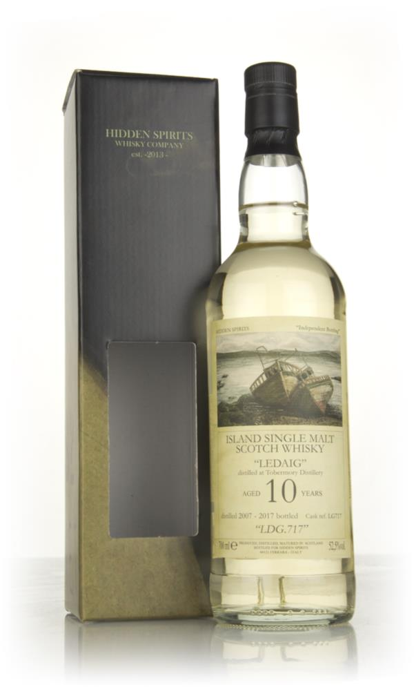 Ledaig 10 Year Old 2007 (cask LG717) - Hidden Spirits Single Malt Whisky
