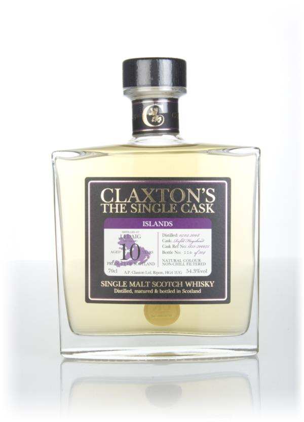 Ledaig 10 Year Old 2008 (cask #1851-700075) - Claxton's Single Malt Whisky