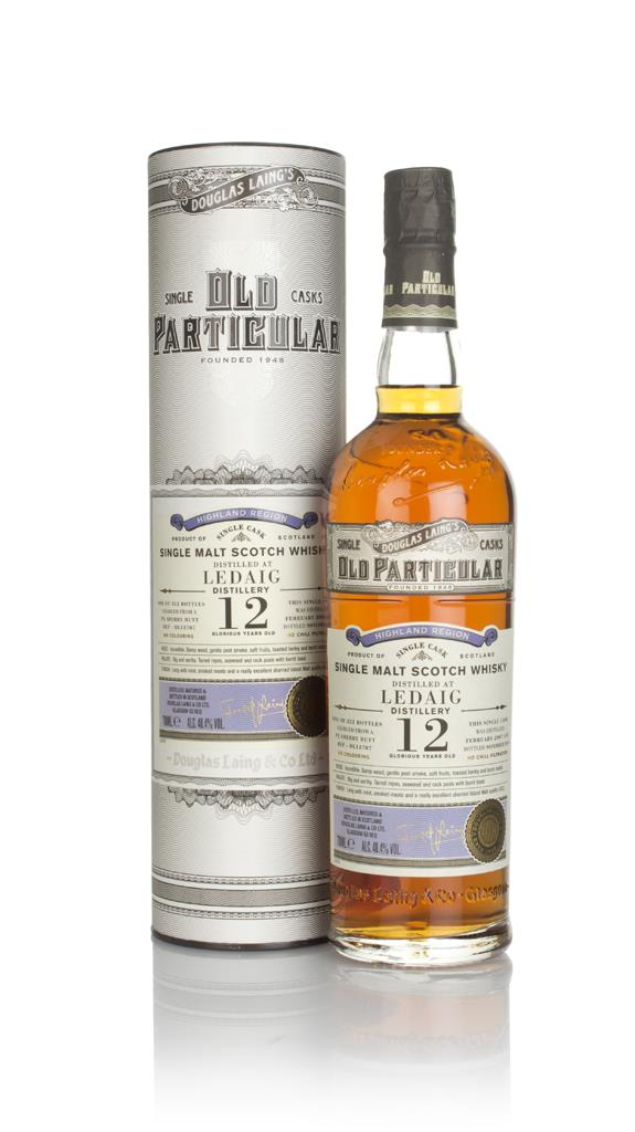 Ledaig 12 Year Old 2007 (cask 13707) - Old Particular (Douglas Laing) Single Malt Whisky
