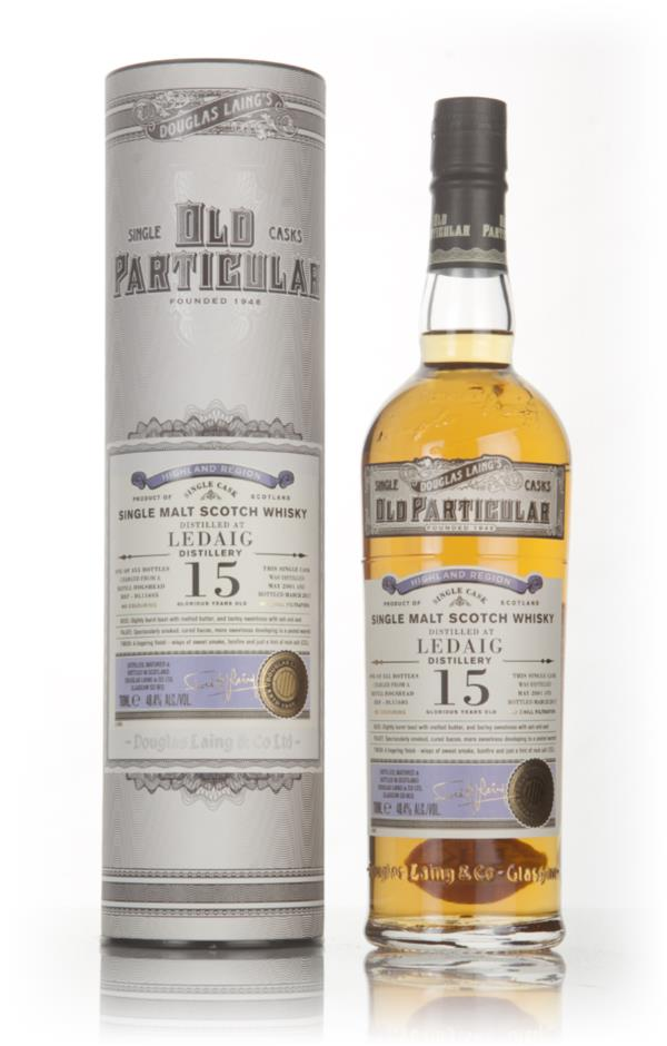 Ledaig 15 Year Old 2001 (cask 11605) - Old Particular (Douglas Laing) Single Malt Whisky