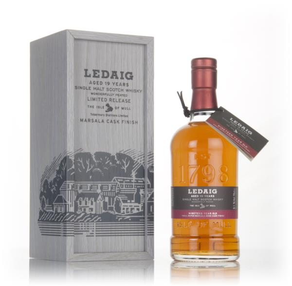 Ledaig 19 Year Old Marsala Cask Finish 3cl Sample Single Malt Whisky
