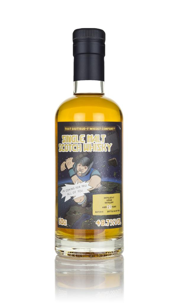 Ledaig 21 Year Old (That Boutique-y Whisky Company) Single Malt Whisky