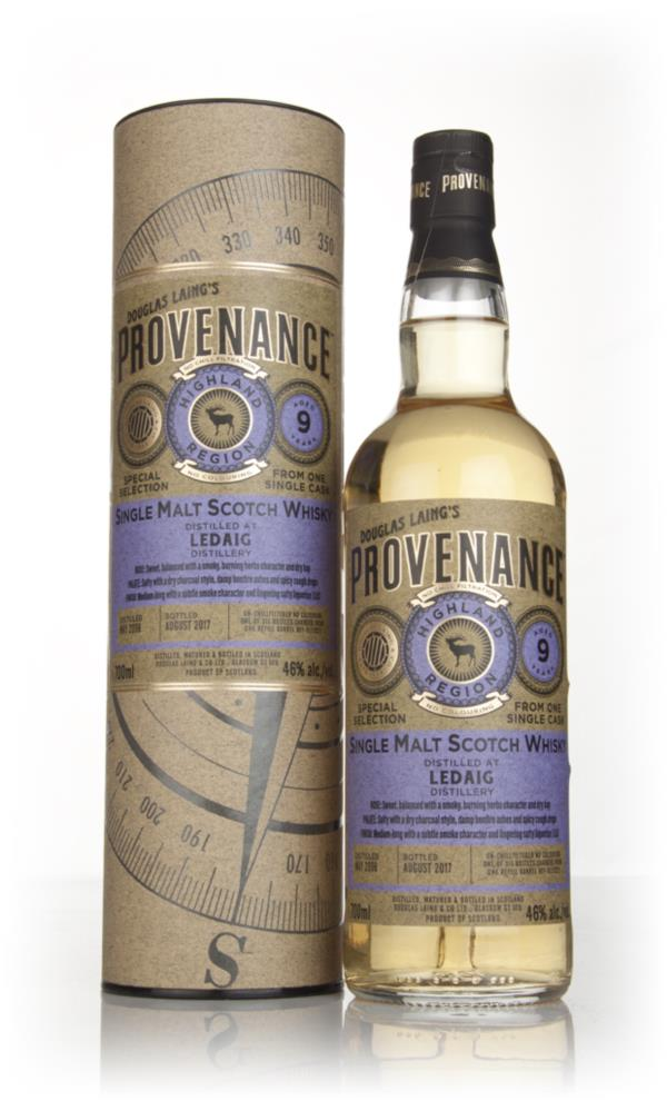 Ledaig 9 Year Old 2008 (cask 12022) - Provenance (Douglas Laing) Single Malt Whisky
