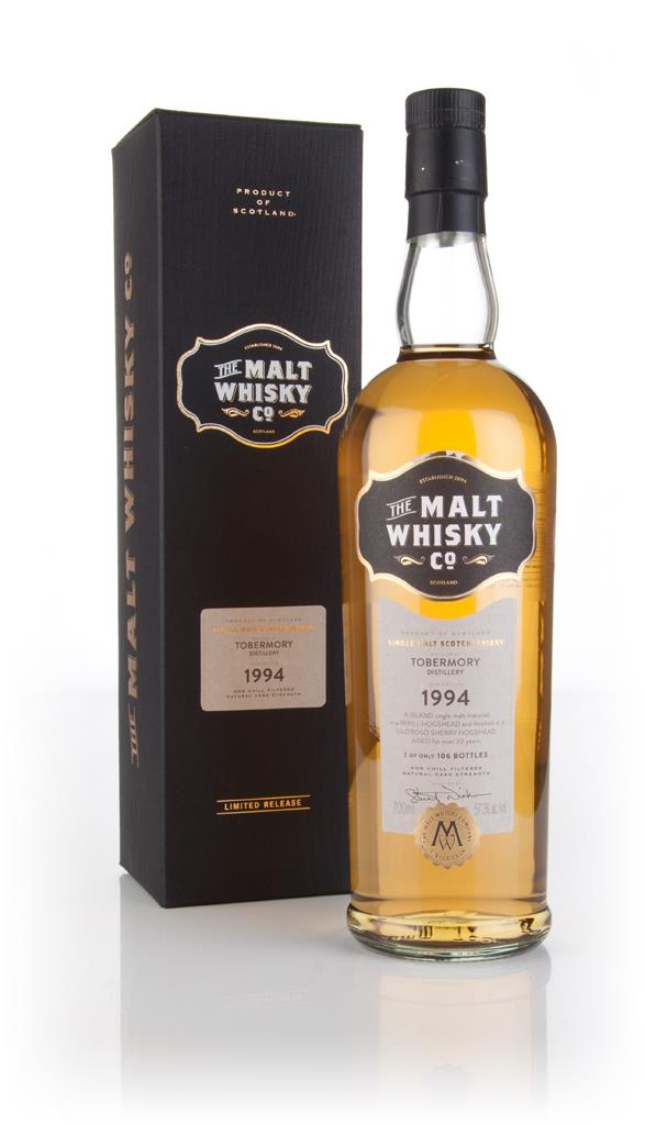 Tobermory 20 Year Old 1994 (The Malt Whisky Co.) 3cl Sample Single Malt Whisky