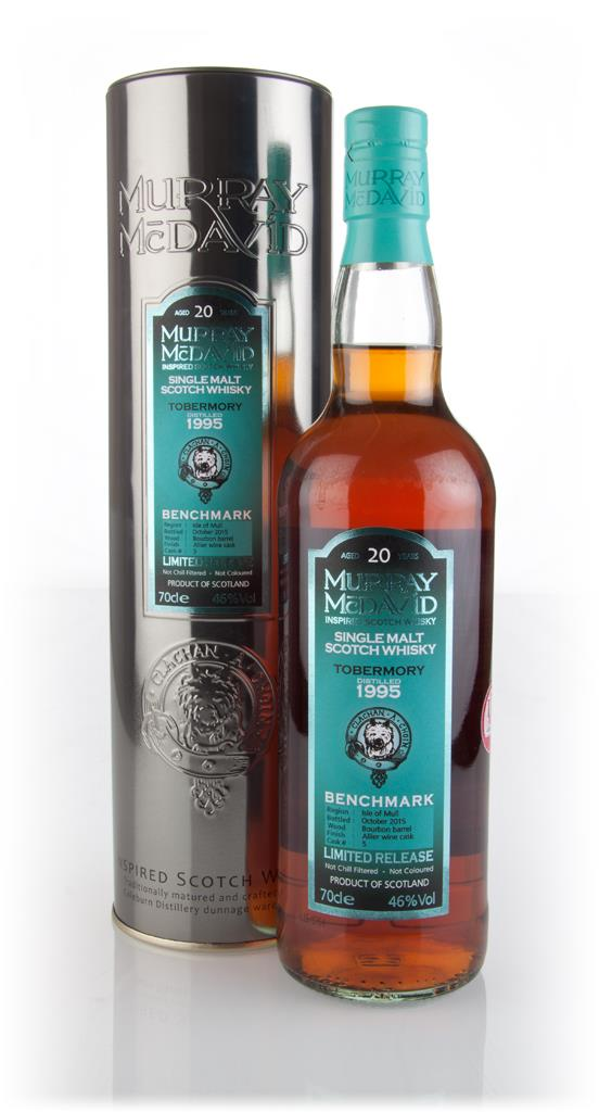 Tobermory 20 Year Old 1995 (cask 5) - Benchmark (Murray McDavid) 3cl S Single Malt Whisky 3cl Sample
