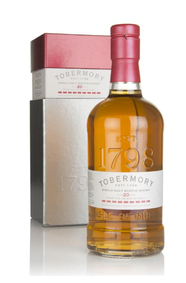 Tobermory 20 Year Old 3cl Sample Single Malt Whisky