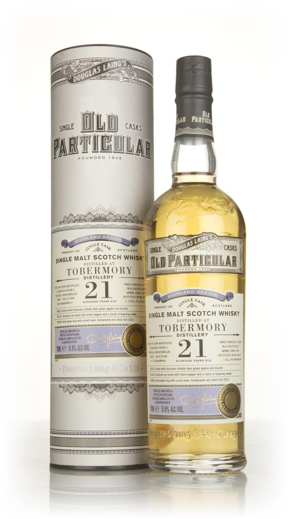 Tobermory 21 Year Old 1996 (cask 11768) - Old Particular (Douglas Lain Single Malt Whisky