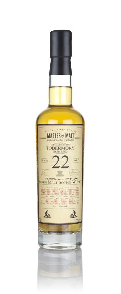 Tobermory 22 Year Old 1996 - Single Cask (Master of Malt) Single Malt Whisky