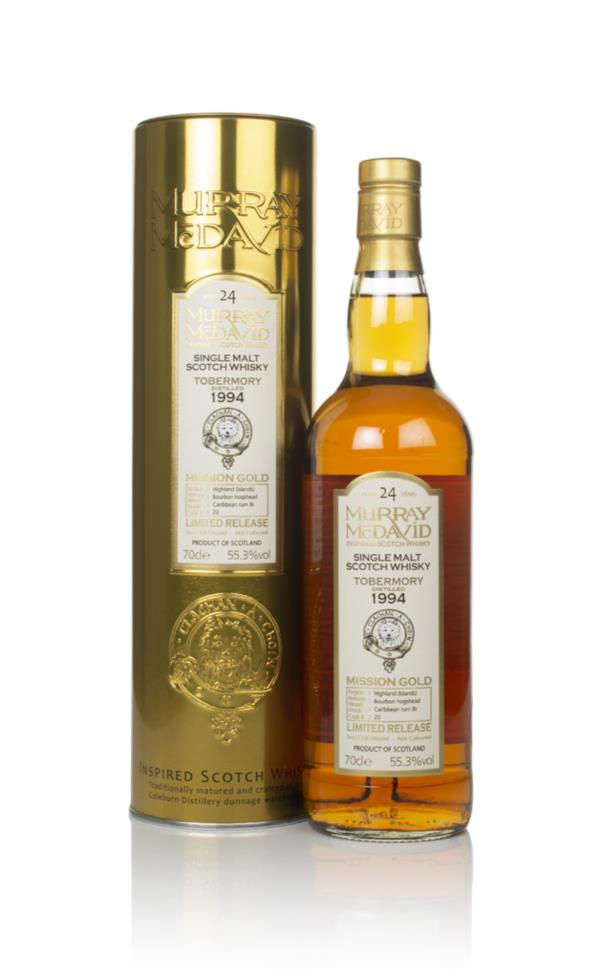 Tobermory 24 Year Old 1994 (cask 20) - Mission Gold (Murray McDavid) Single Malt Whisky