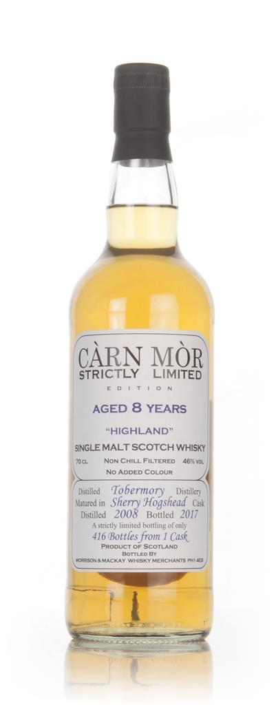 Tobermory 8 Year Old 2008 (bottled 2017) - Strictly Limited (Carn Mor) Single Malt Whisky