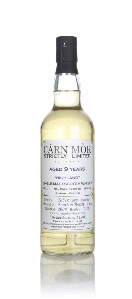 Tobermory 9 Year Old 2008 - Strictly Limited (Carn Mor) Single Malt Whisky