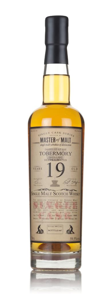 Tobermory Heavily Peated 19 Year Old 1997 - Single Cask (Master of Mal Single Malt Whisky 3cl Sample