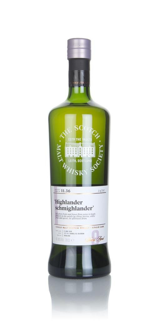 SMWS 11.36 9 Year Old 2008 Single Malt Whisky