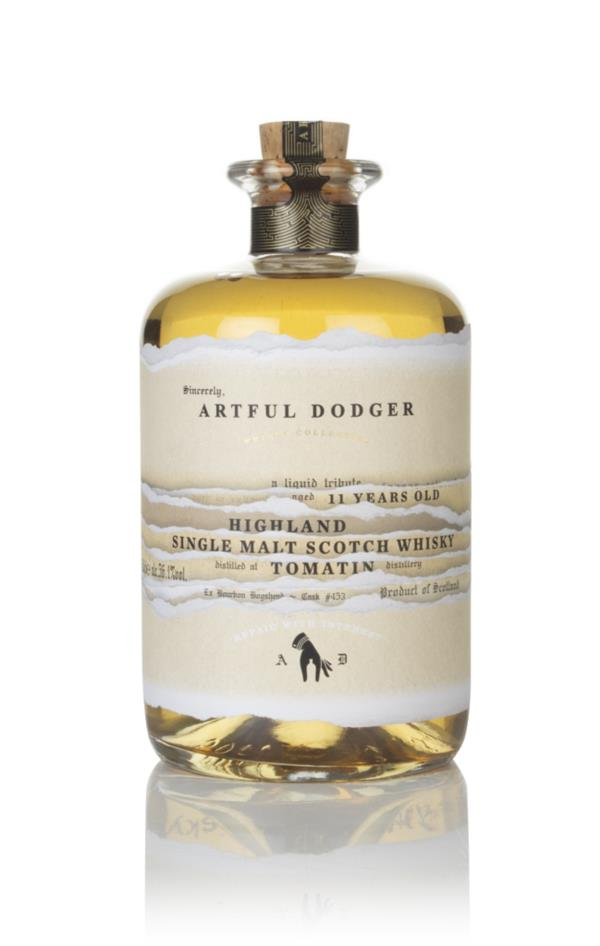 Tomatin 11 Year Old 2008 (cask 453) - Artful Dodger Single Malt Whisky