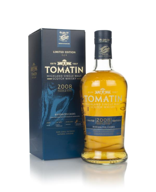 Tomatin 12 Year Old 2008 Rivesaltes Cask Finish - French Collection Single Malt Whisky