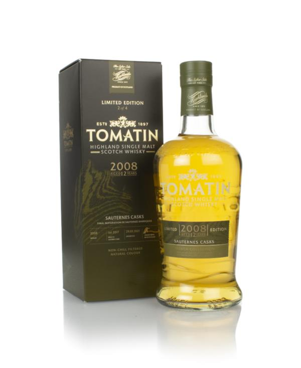 Tomatin 12 Year Old 2008 Sauternes Cask Finish - French Collection Single Malt Whisky