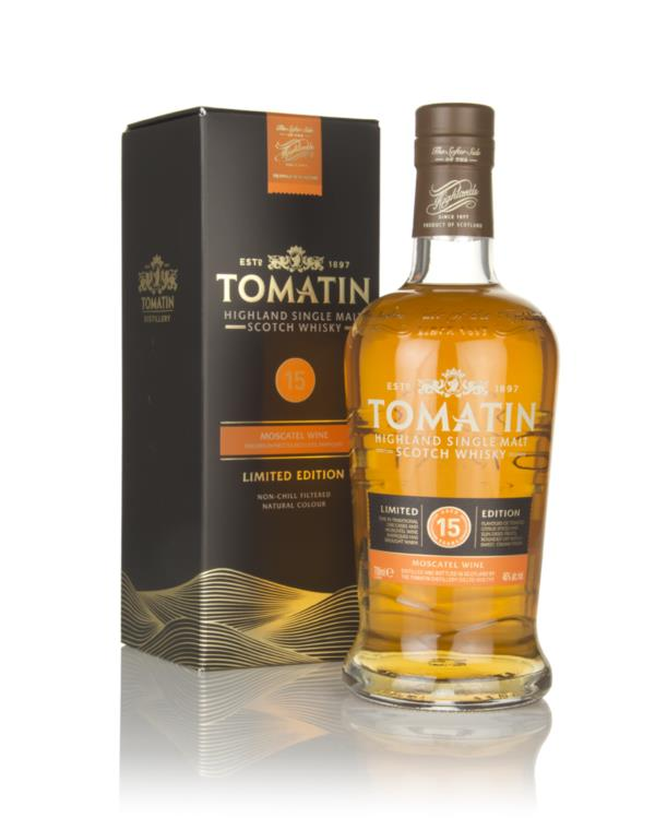 Tomatin 15 Year Old Moscatel Cask Finish Single Malt Whisky