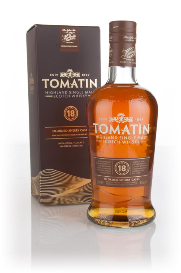 Tomatin 18 Year Old Sherry Cask Single Malt Whisky