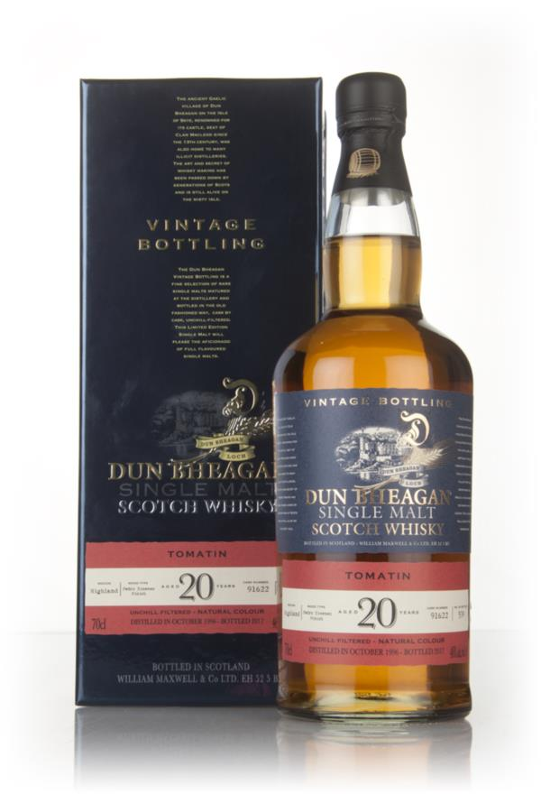 Tomatin 20 Year Old 1996 (Cask 91622) - Dun Bheagan (Ian Macleod) Single Malt Whisky