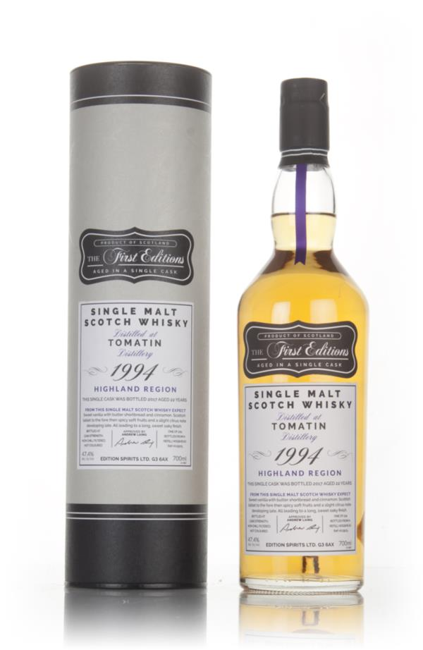 Tomatin 22 Year Old 1994 - The First Editions (Hunter Laing) Single Malt Whisky