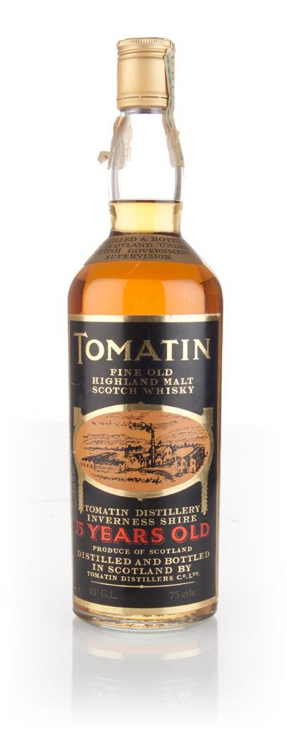 Tomatin 5 Year Old - 1970s Single Malt Whisky